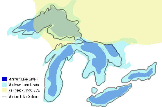 Great Lakes and Glaciation